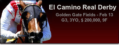 El Camino Real Derby - Bet Now!