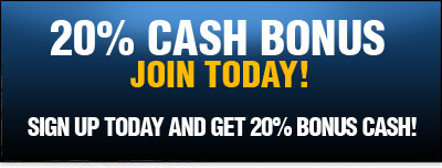10% Cash Back On All Horse racebook