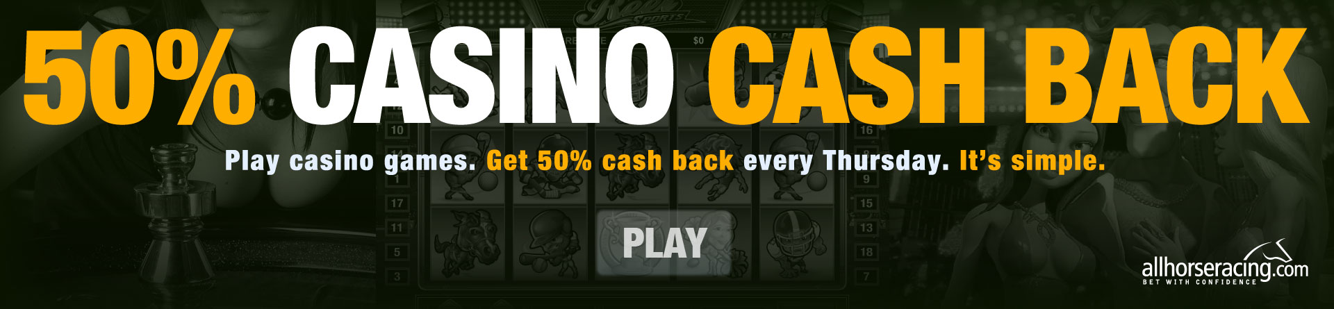 Get 50% Cashino Cash Back