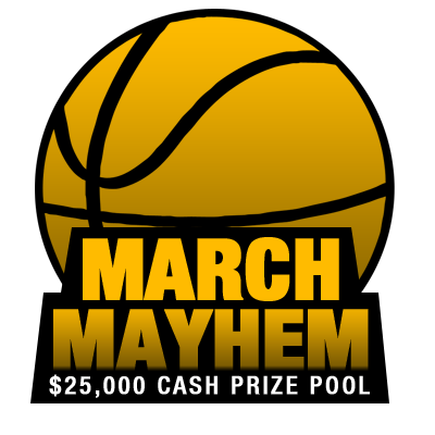 $25,000.00 March Madness Perfect Bracket